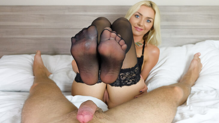Fuss fetisch porno